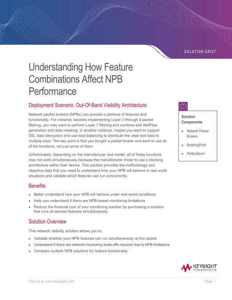 Understanding How Feature Combinations Affect NPB Performance