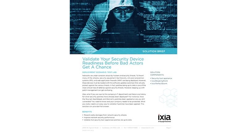 Validate Your Security Device Readiness Before Bad Actors Get A Chance