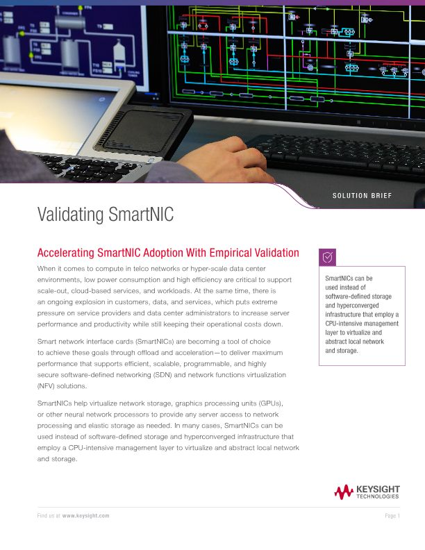Validating SmartNIC