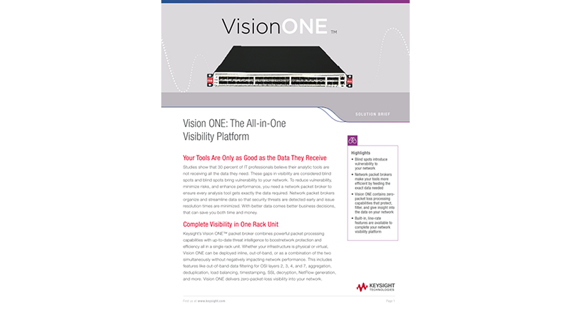 Vision ONE: The All-in-One Visibility Platform