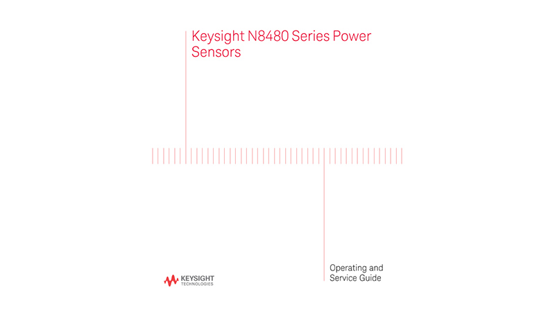 N8480 Operating and Service Guide
