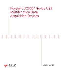 U2300A Series User Guide
