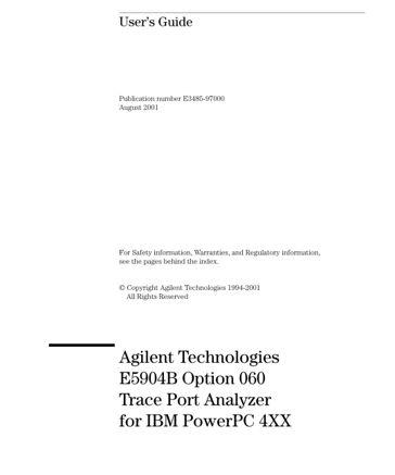 Keysight Technologies E5904B Option 060 Trace Port Analyzer for ...