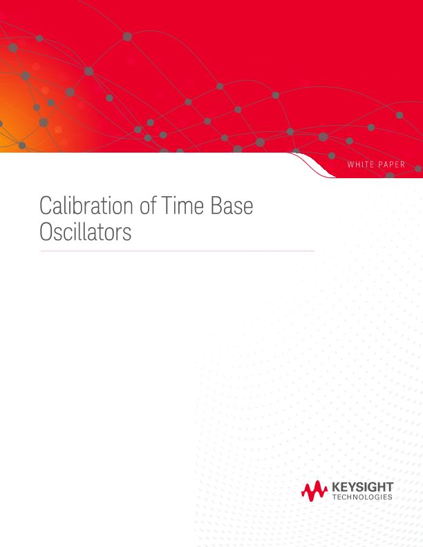 Time Base Oscillator Calibration