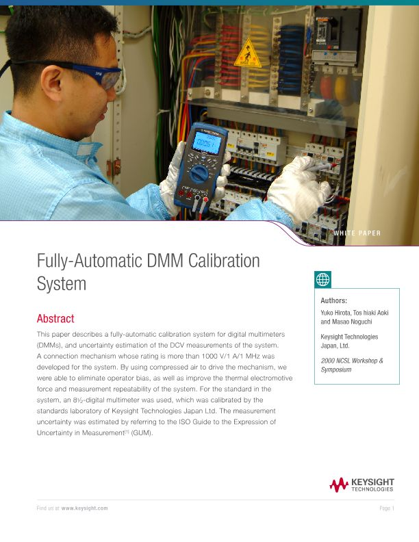 Fully-Automatic DMM Calibration System