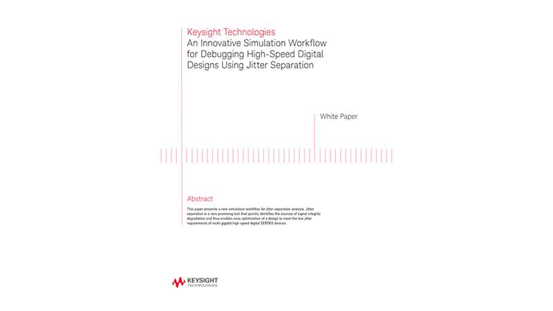 A Simulation Workflow for High-Speed Digital Design