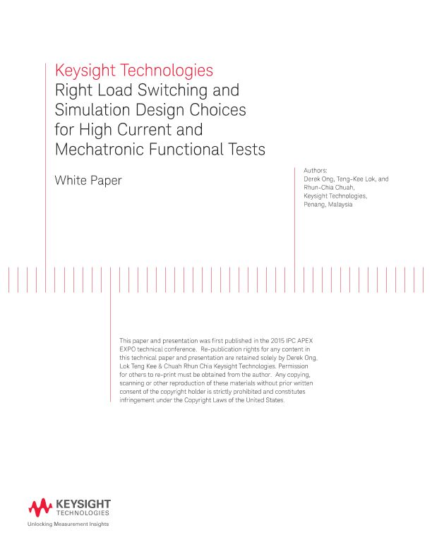 Right Load Switching and Simulation Design for High Current
