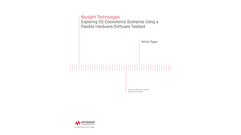 5G Coexistence Using a Flexible Hardware/Software Testbed