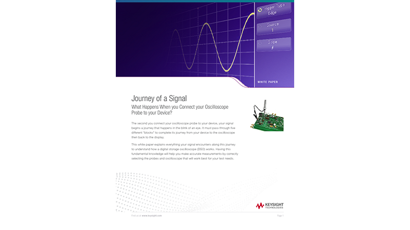 Journey of a Signal – Understand How an Oscilloscope Probe Works