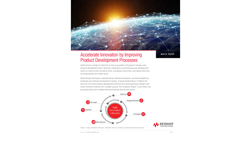 Improve and Accelerate Product Development Processes