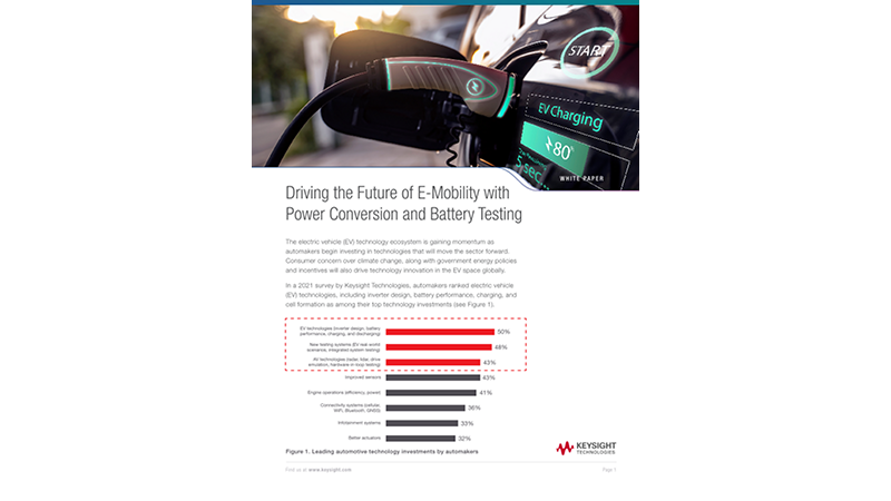 Future of Mobility – Technologies Driving Energy Ecosystem