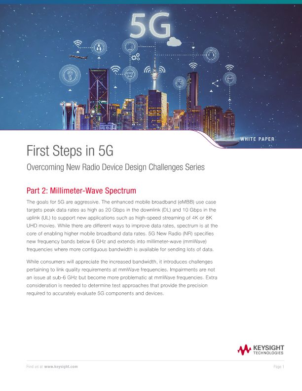 Overcoming 5g NR Device Design Challenges Series – Part 2