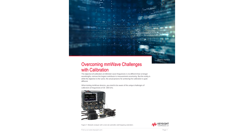 Millimeter-wave (mmWave) Calibration Challenges