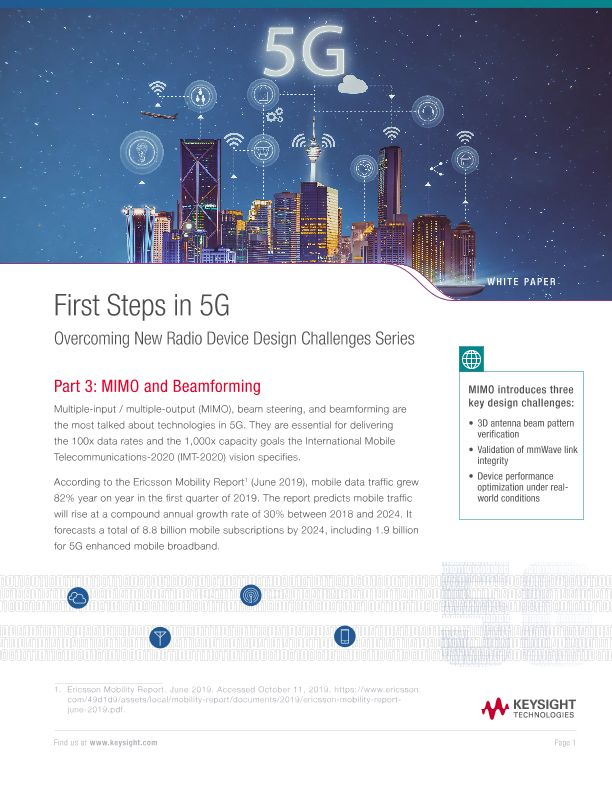 Overcoming 5G NR Device Design Challenges Series – Part 3