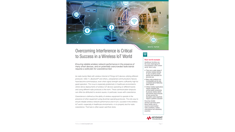 How to Reduce Wireless Interference in an IoT World