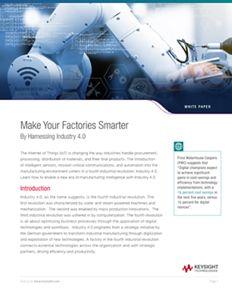 Smarter Factories – Drivers of Industry 4.0