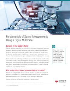 Sensor Measurements Using a Digital Multimeter