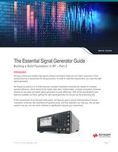 Signal Generator: RF Foundations – Part 2