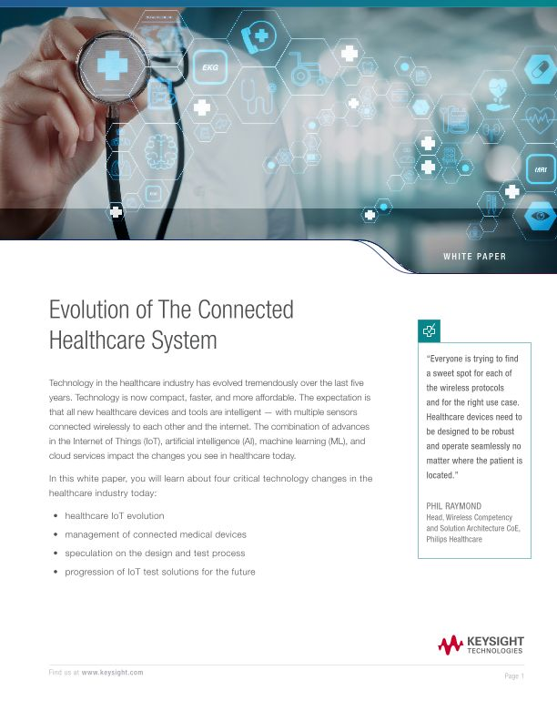 Evolution of the Connected Healthcare System