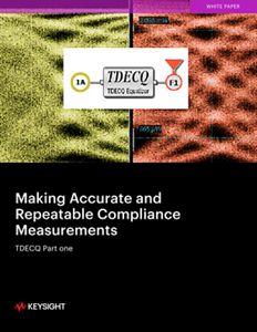 TDECQ Part 1 – Accurate Compliance Measurements