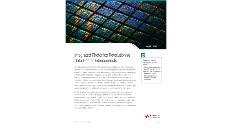 Integrated Photonics Revolutionize Data Center Interconnects