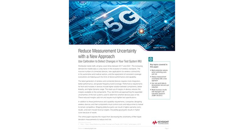 Reduce Measurement Uncertainty Using Calibration