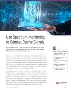 Use Spectrum Monitoring to Combat Elusive Signals