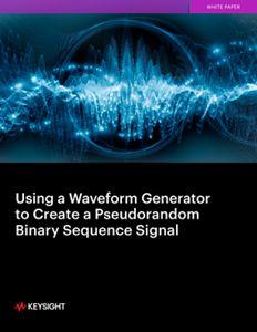 Using a Waveform Generator to Create a Pseudorandom Binary Sequence Signal