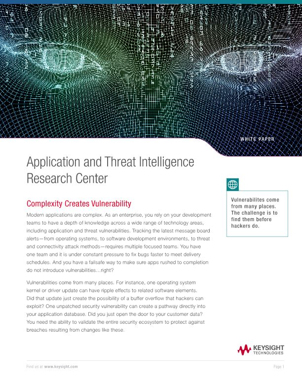 Application and Threat Intelligence Research Center