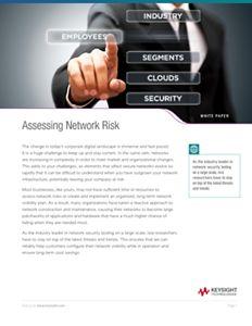 Assessing Network Risk