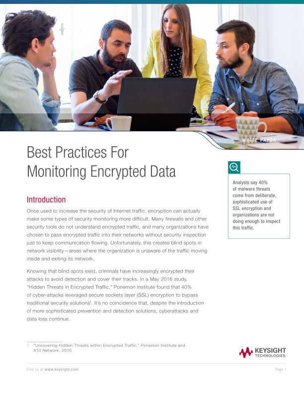 Best Practices For Monitoring Encrypted Data