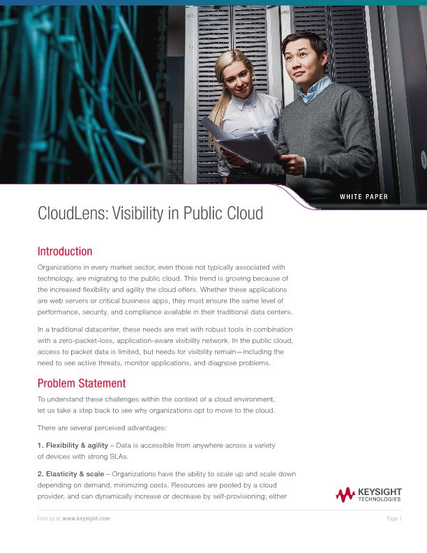 CloudLens: Visibility in Public Cloud