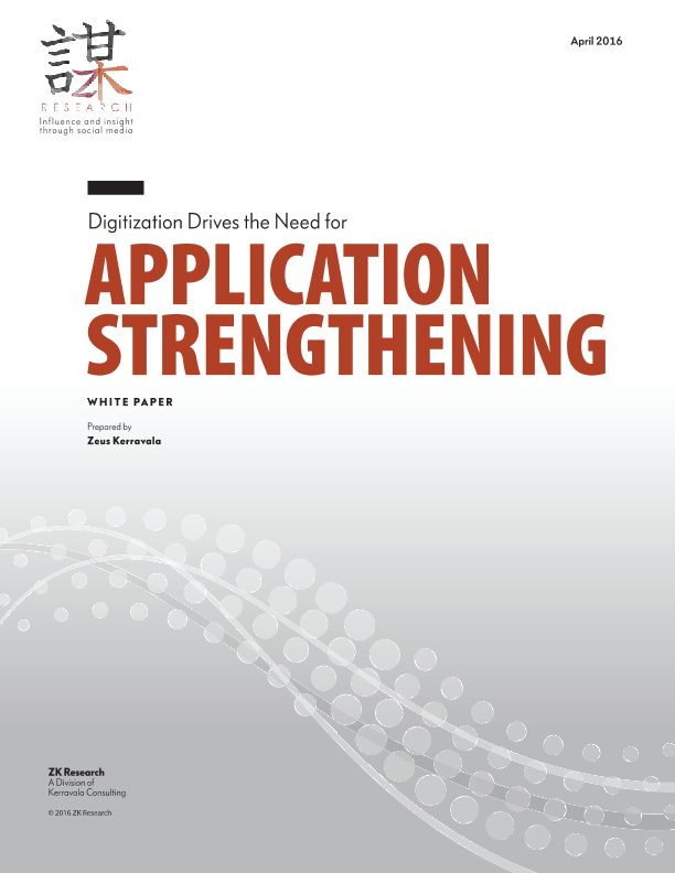 Digitization Derives the Need for Application Strengthening