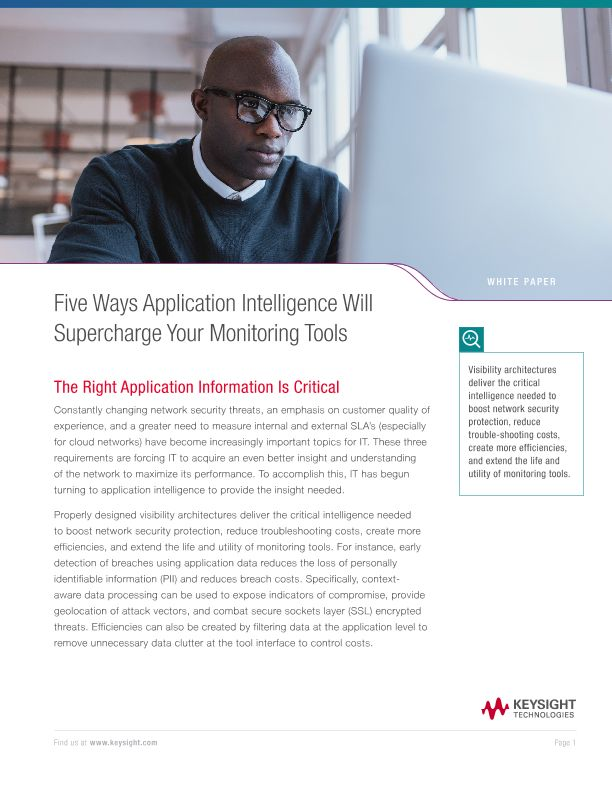 Five Ways Application Intelligence Will Supercharge Your Monitoring Tools
