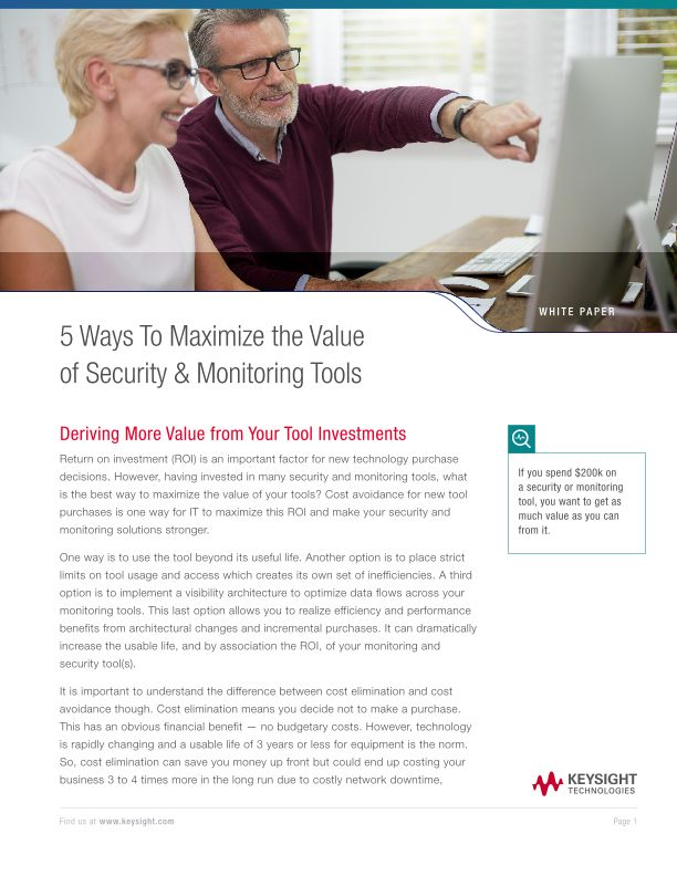 5 Ways To Maximize the Value of Security & Monitoring Tools