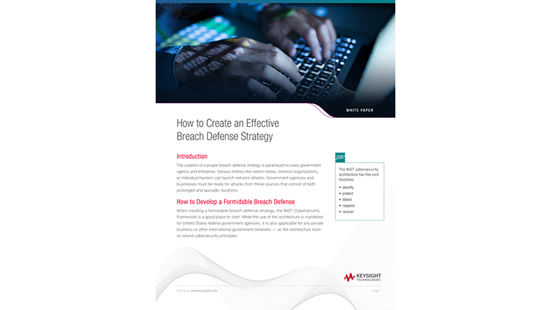 How To Create An Effective Breach Defense Strategy