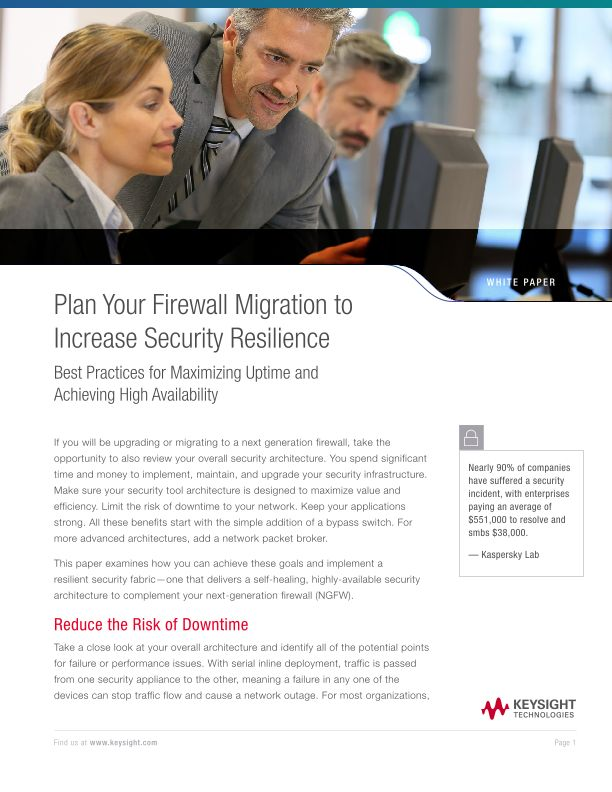Plan Your Firewall Migration to Increase Security Resilience