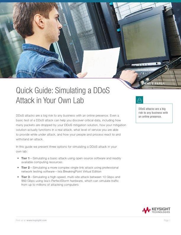 Quick Guide: Simulating A DDoS Attack in Your Own Lab