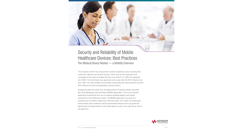 Security and Reliability of Mobile Healthcare Devices: Best Practices