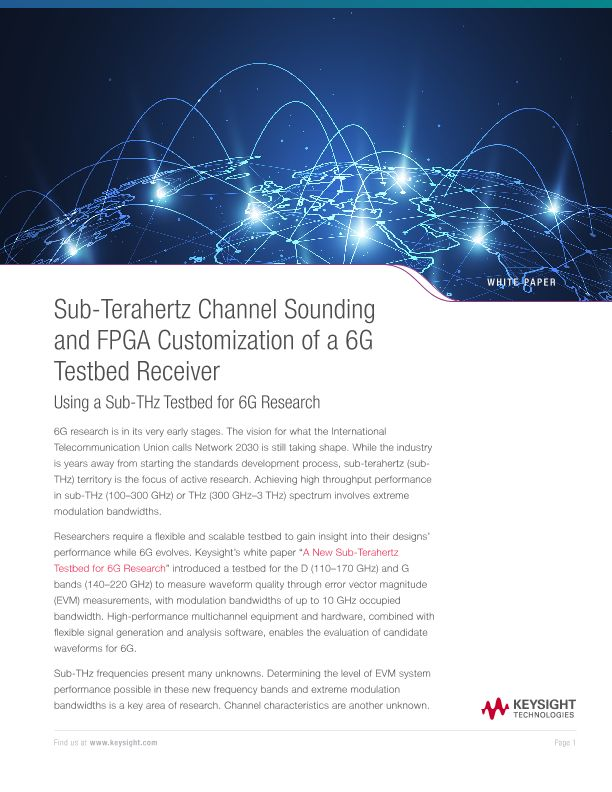 Sub-Terahertz Channel Sounding and FPGA Customization of a 6G Testbed Receiver