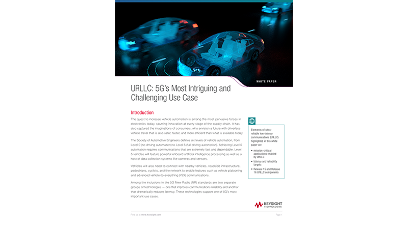 URLLC: 5G's Most Intriguing and Challenging Use Case