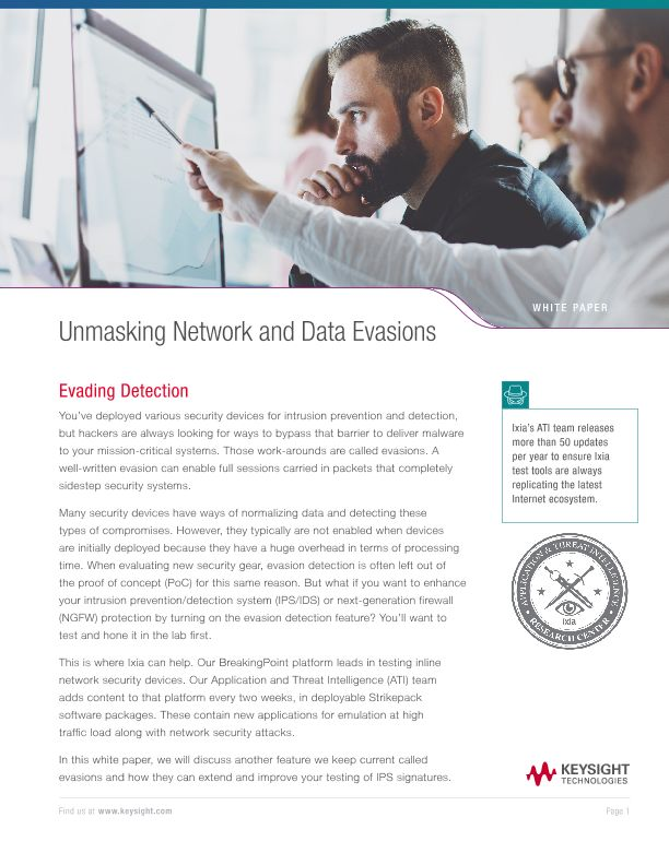 Unmasking Network and Data Evasions