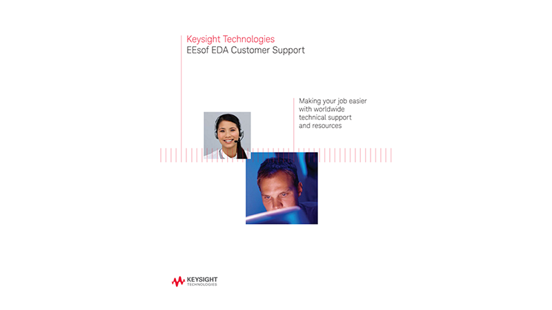 Keysight EEsof EDA Customer Support