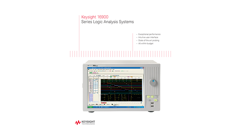 16900 Series Logic Analysis Systems