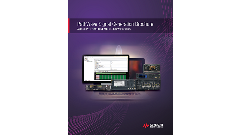 Pathwave Signal Creation