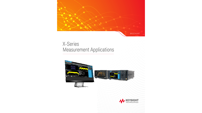 X-Series Measurement Applications