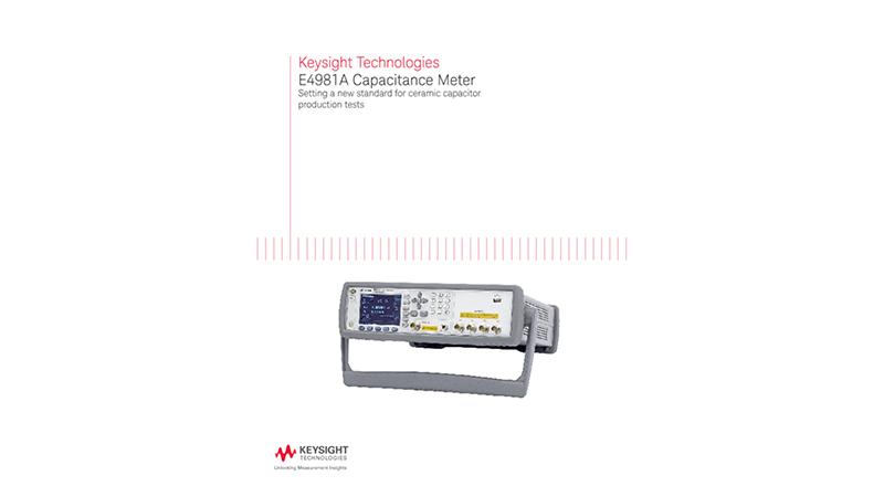 E4981 Capacitance Meter–BR