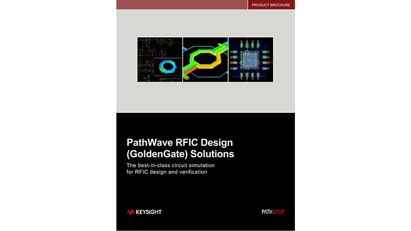 EEsof EDA GoldenGate RFIC Solutions