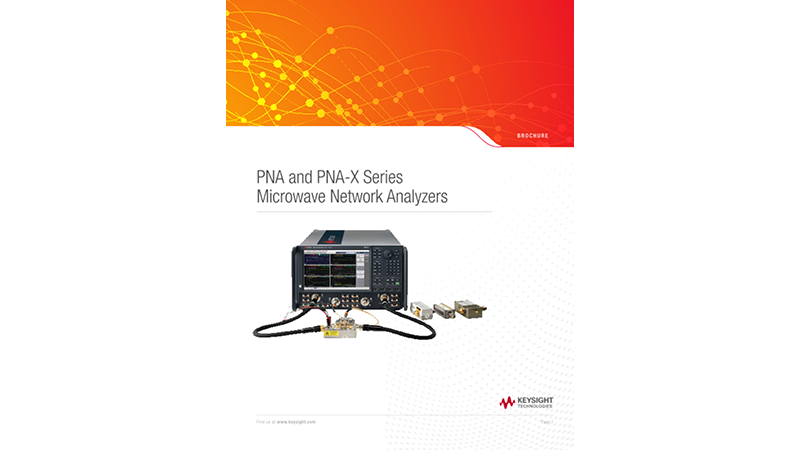 PNA and PNA-X Series Microwave Network Analyzers