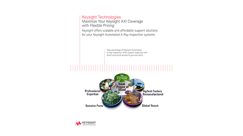Maximize Your Keysight AXI Coverage with Flexible Pricing